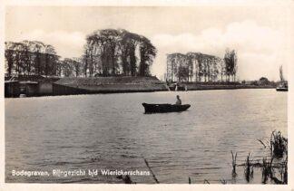 Ansichtkaart Bodegraven Rijngezicht b/d Wierickerschans 1939 Nieuwerbrug Militair HC28933