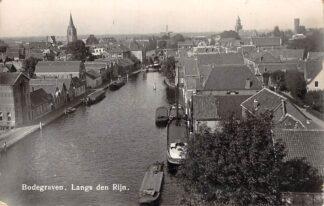 Ansichtkaart Bodegraven Langs den Rijn Newo fotokaart 1939 HC28935