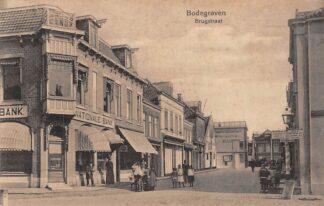 Ansichtkaart Bodegraven Brugstraat met Nationale Bank HC28948