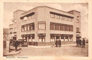 Ansichtkaart Bodegraven Beursgebouw Auto 1934 HC28988