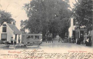 Ansichtkaart Baambrugge Utrechtsche Straatweg Kleinrondstempel 1903 De Ronde Venen HC29069