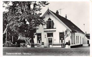 Ansichtkaart Zoeterwoude H.R. Speeltuin Café Het Witte Huis 1957 HC29082