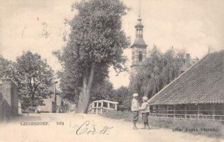 Ansichtkaart Leiderdorp Gereformeerde Kerk Nauta 1154 HC29086