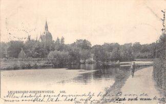 Ansichtkaart Leiderdorp - Zoeterwoude 1903 Nauta 1191 HC29111