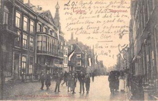 Ansichtkaart Leiden Brugstraat 1905 HC29129