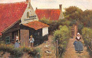 Ansichtkaart Amsterdam Reclame Heineken's Glazenwasscherij Stoom Jalouzieen- en Rolluikenfabriek Illustrator Gerstenhauer HC29138