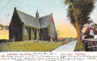 Ansichtkaart Oegstgeest Prot. Kerk 1904 HC29144