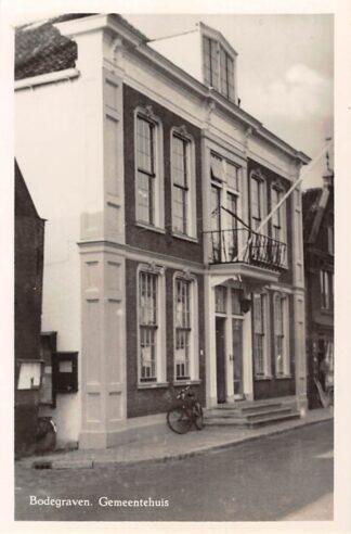 Ansichtkaart Bodegraven Gemeentehuis HC29153