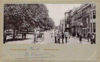 Ansichtkaart 's-Gravenhage Bezuidenhout 1902 HC29225