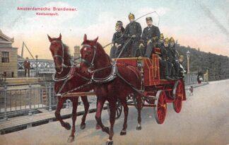 Ansichtkaart Amsterdam Amsterdamsche Brandweer Koolzuurspuit HC29279