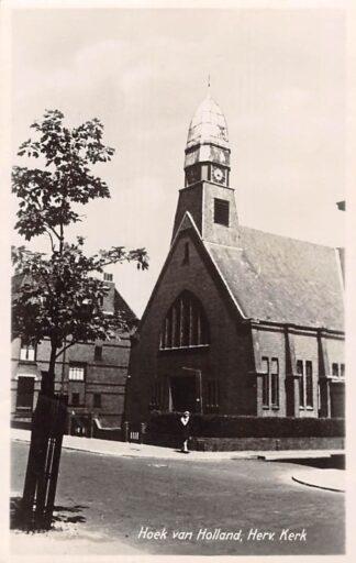 Ansichtkaart Hoek van Holland Hervormde Kerk 1949 HC29322