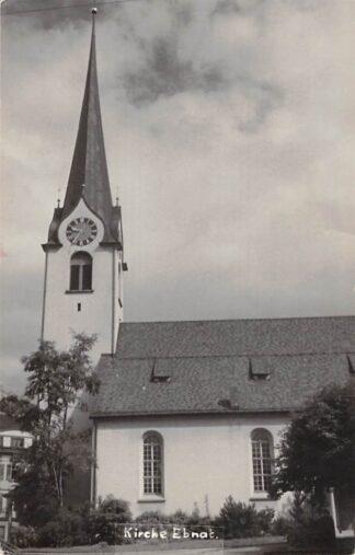 Ansichtkaart Zwitserland Ebnat Fotokaart Kirche Schweiz Suisse Switzerland 1967 Europa HC29325