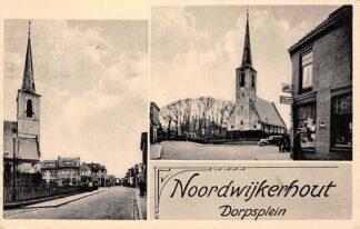 Ansichtkaart Noordwijkerhout Dorpsplein 1942 HC29331