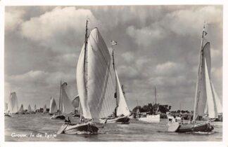 Ansichtkaart Grouw In de Tynje Zeilen 1958 HC29335