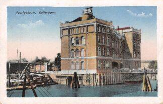 Ansichtkaart Rotterdam Poortgebouw Havendienst en kantoor Holland Amerika Lijn Scheepvaart HC29456