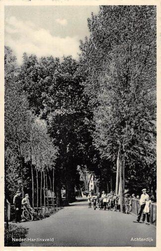 Ansichtkaart Neder-Hardinxveld Achterdijk Hardinxveld - Giessendam 1943 Alblasserwaard HC29485