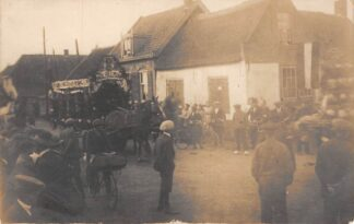 Ansichtkaart Pijnacker Fotokaart Optocht ter ere van het 25 jarig regeringsjubileum van H.M. Koningin Wilhelmina 1923 Koningshuis HC29529