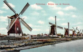 Ansichtkaart Rotterdam Molens aan de Boezem HC29552