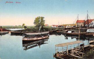 Ansichtkaart Arnhem Haven Binnenvaart schepen Scheepvaart HC29592