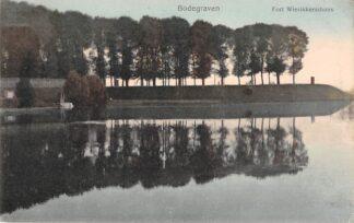 Ansichtkaart Bodegraven Fort Wierikkerschans Nieuwerbrug aan de Rijn 1916 Militair HC29653