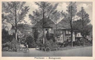Ansichtkaart Bodegraven Plantsoen 1939 HC29688