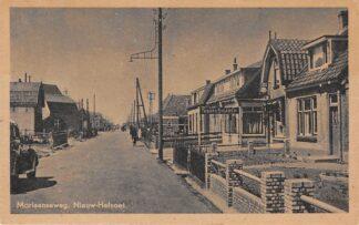 Ansichtkaart Nieuw-Helvoet Moriaanseweg Tabak & Sigarenwinkel Hellevoetsluis HC29716