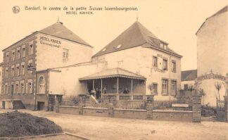 Ansichtkaart Luxemburg Berdorf le centre de la petite Suisse luxembourgeoise Hotel Kinnen Luxembourg Europa HC29771