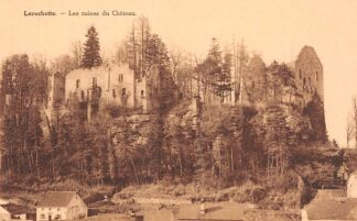 Ansichtkaart Luxemburg Larochette Les ruïnes du Chateau Luxembourg Europa HC29774