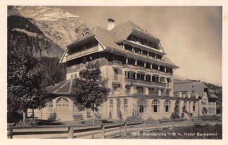 Ansichtkaart Zwitserland Kandersteg Hotel Bernerhof Schweiz Suisse Switzerland Europa HC29779