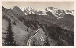 Ansichtkaart Zwitserland Schynige Platte Bahn Trein Spoorwegen Schweiz Suisse Switzerland Europa HC29785