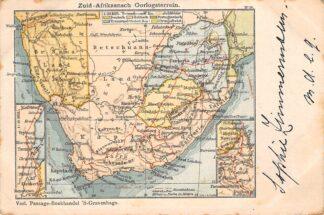 Ansichtkaart Zuid-Afrika Boerenoorlog 1900 Zuid-Afrikaansch Oorlogsterrein South Africa Afrika HC29802