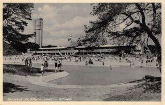 Ansichtkaart Bilthoven Natuurbad De Biltsche Duinen Zwembad Watertoren 1934 HC29893