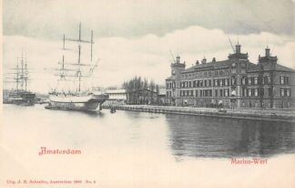 Ansichtkaart Amsterdam Marine - Werf Scheepvaart Schepen HC29944