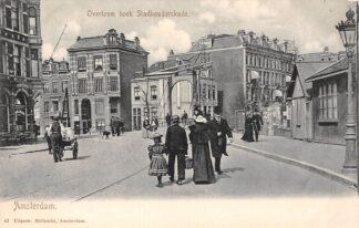 Ansichtkaart Amsterdam Overtoom hoek Stadhouderskade HC29976