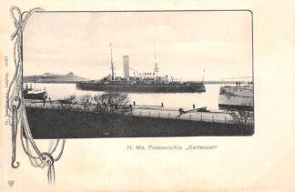 Ansichtkaart Den Helder H. Ms. Pantserschip Kortenaer Marine Scheepvaart HC30003