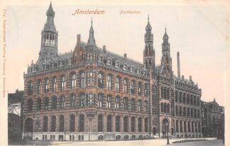 Ansichtkaart Amsterdam Postkantoor HC30031