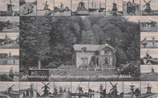 Ansichtkaart 's-Gravenhage Bochwachterswoning i/h Haagsche Bosch Molens in de rand 1906 HC30253