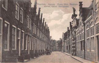 Ansichtkaart Haarlem Melkboer met hondenkar Groot Heiligland HC30260