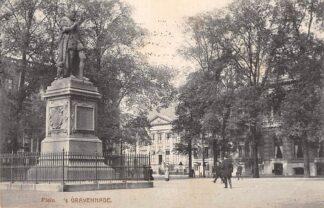Ansichtkaart 's-Gravenhage Plein met monument 1918 HC30305