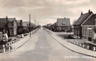 Ansichtkaart Zuid-Beijerland Oranjeweg 1958 Hoeksche Waard HC30413